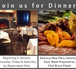 Reservation Only Winery Dinners