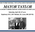 Music to Feed Your Soul Benefit Concert with Mayor Taylor
