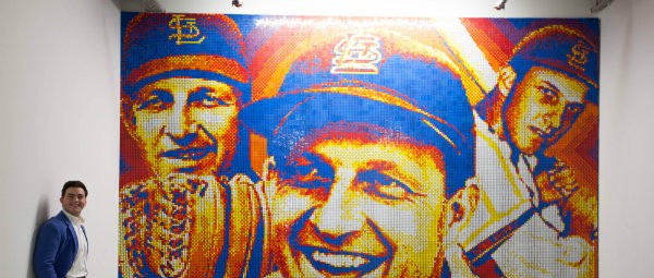 A Priory Senior Made a Rubik's Cube Portrait of Stan Musial — and It's Amazing
