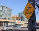 Bicycle Ban Eyed for Delmar Loop Over Trolley Dangers