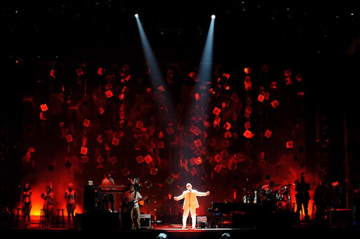 Sade and John Legend at Scottrade Center