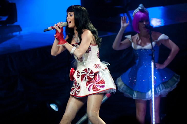 Katy Perry at the Scottrade Center