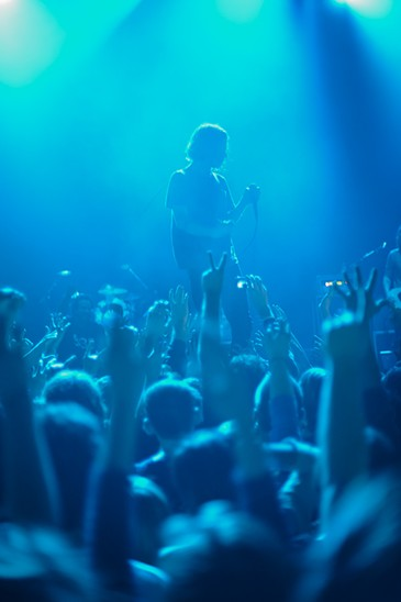Cage the Elephant at the Pageant
