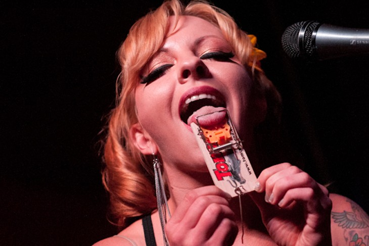 Cut Throat Freak Show at The Crack Fox