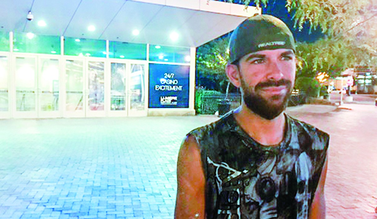 Jimmy Wille has been eking out a life on Grand Avenue, trying to make enough money to get methadone — and get to the methadone clinic by public transit before it closes.
