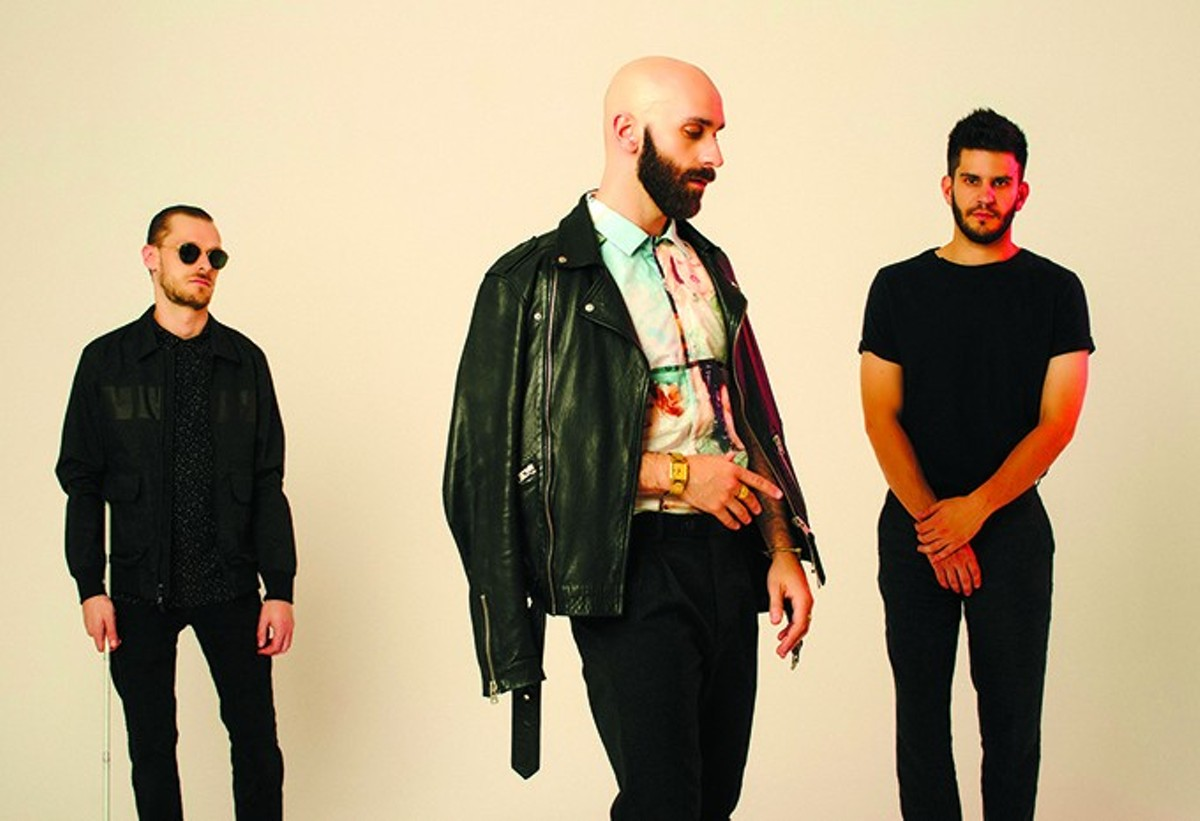 Casey Harris of X Ambassadors Doesn't Need to See in Order