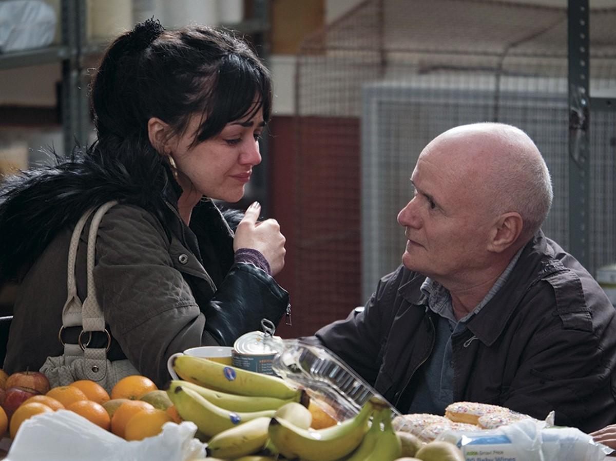 Dave Johns and Hayley Squires excel in I, Daniel Blake.