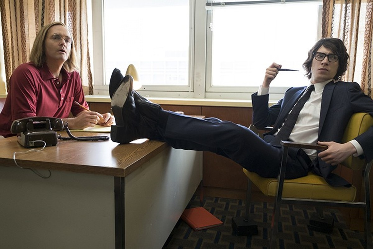 Doug Kenney and Henry Beard (Will Forte and Domhnall Gleeson) lampooned America when America needed it most.