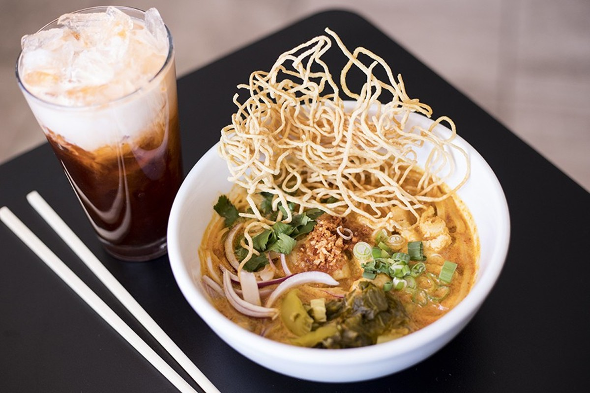 Yes, this is khao soi good enough to compete with the legendary Fork & Stix version.