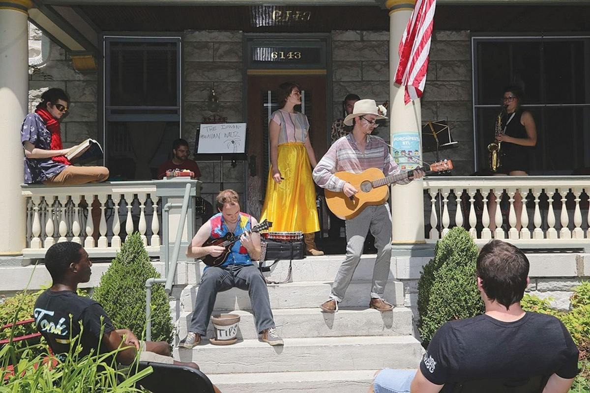 This Sunday, for the second year in a row, the festival will take over the Skinker DeBaliviere neighborhood.