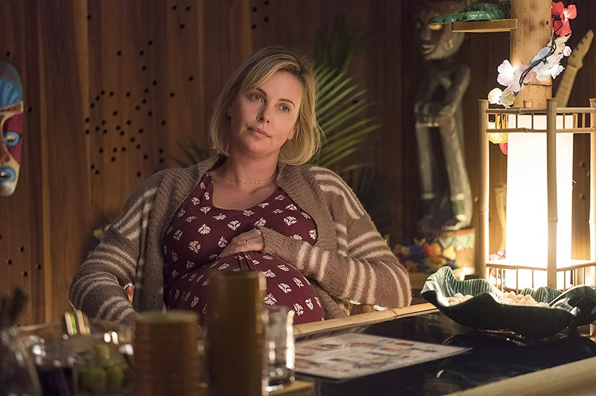 Marlo (Charlize Theron) is exhausted by trying to be a perfect mother, but perfect mothers don't ask for help.