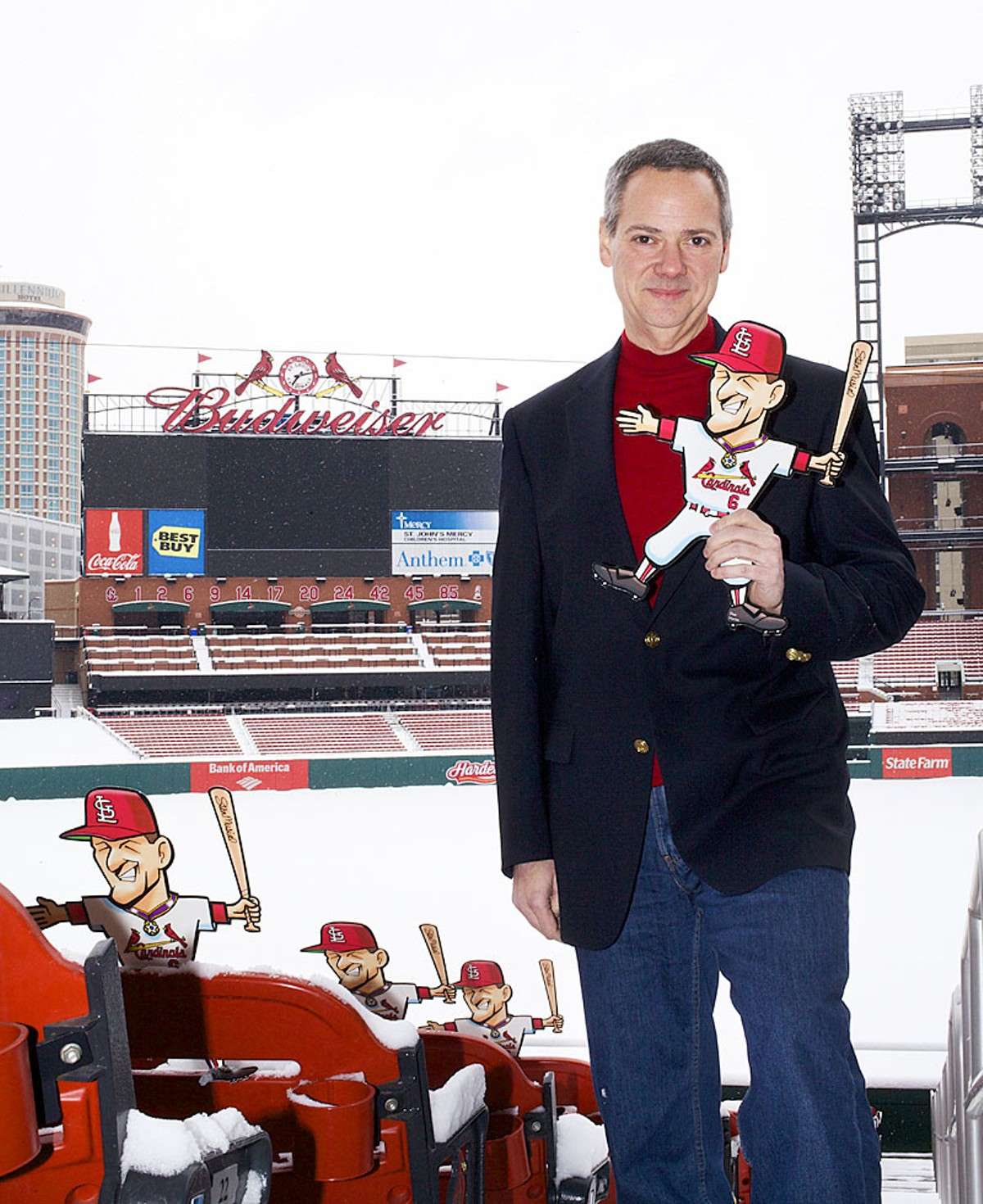 St. Louis Cardinals Director of Public Relations Ron Waterman