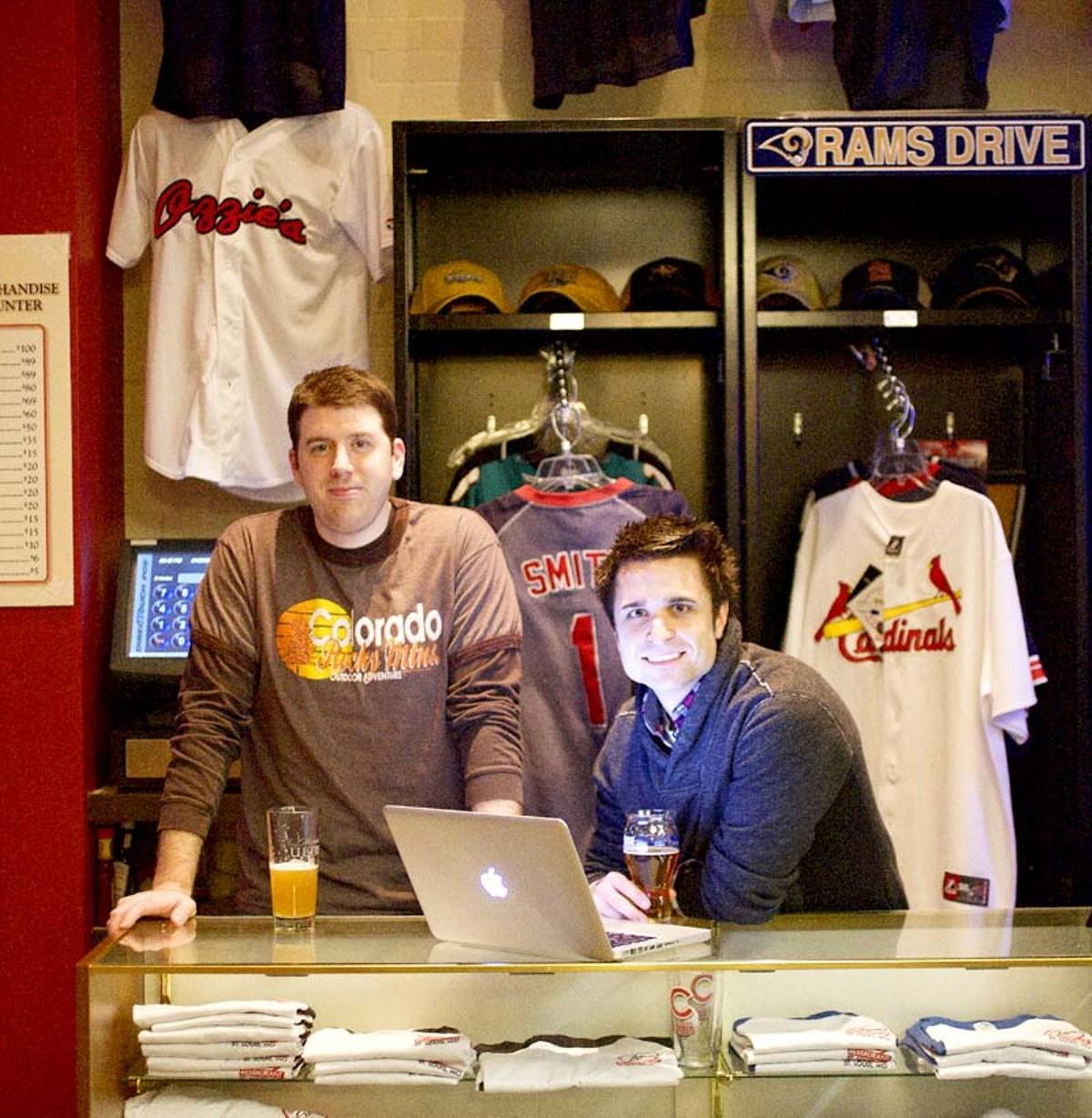 JoeSportsFan's Josh Bacott and Matt Sebek.