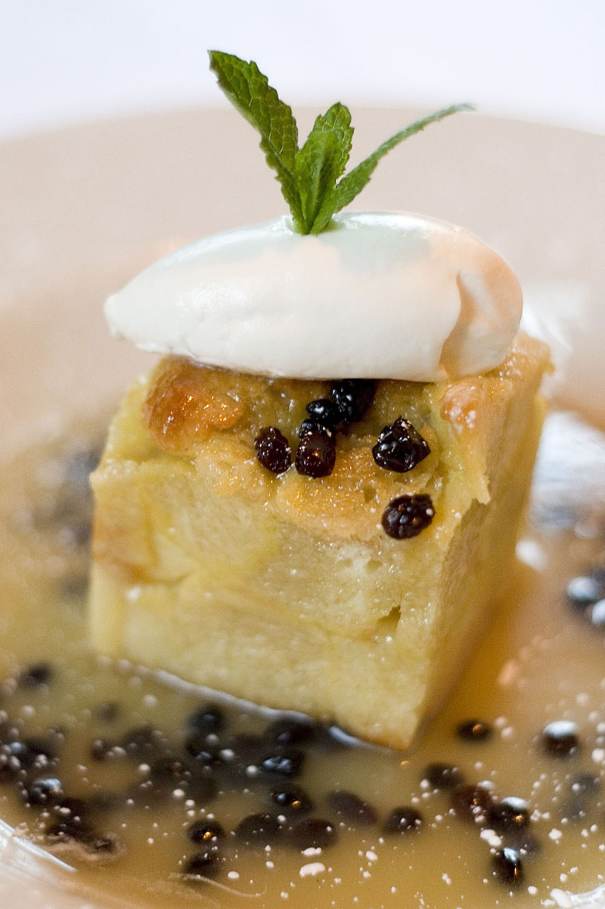 Behold No. 3: Harvest's bread pudding.