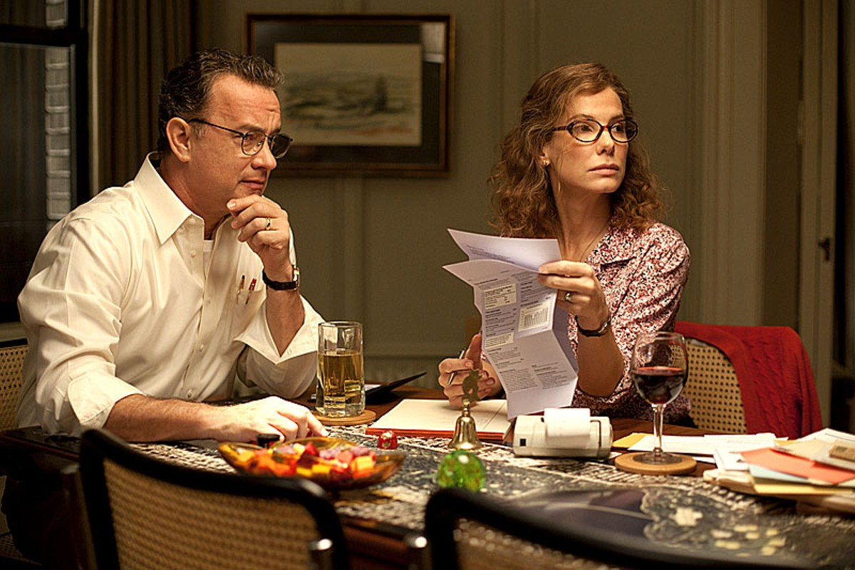 Tom Hanks and Sandra Bullock in Extremely Loud and Incredibly Close.