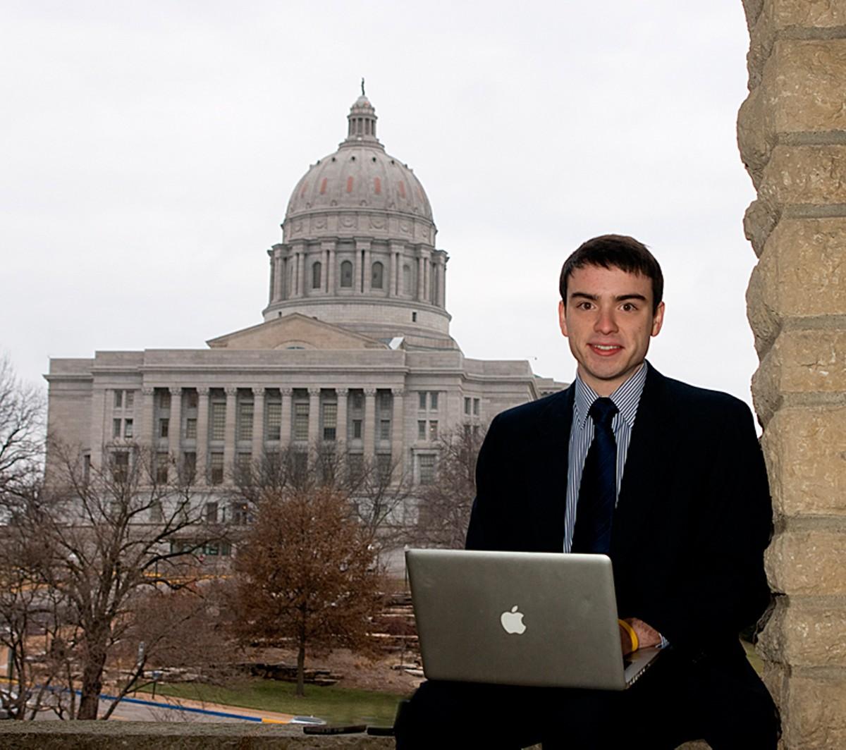Best Political Blog blogger Eli Yokley. Read a profile of Yokley here.