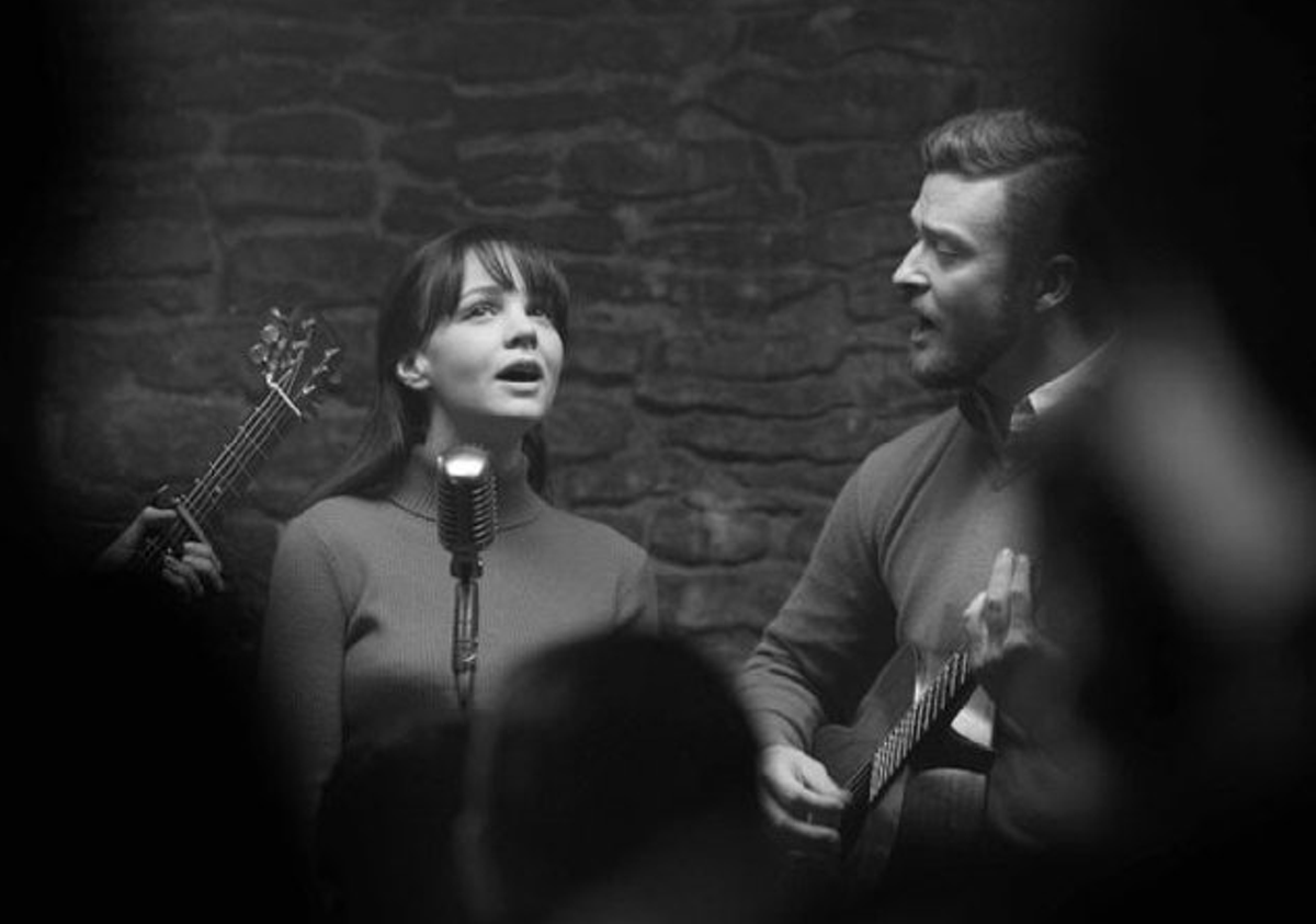Justin Timberlake and Carey Mulligan in Inside Llewyn Davis.