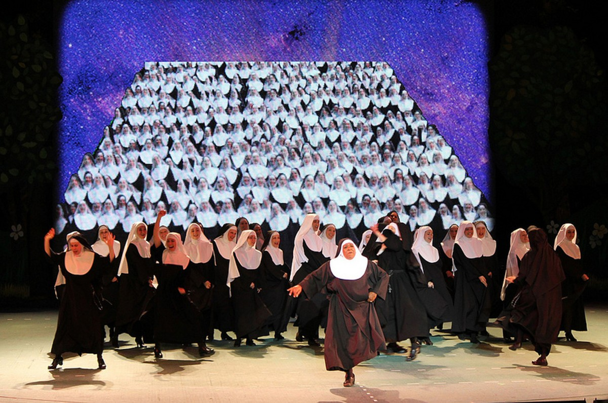 The cast of Nunsense Muny Style