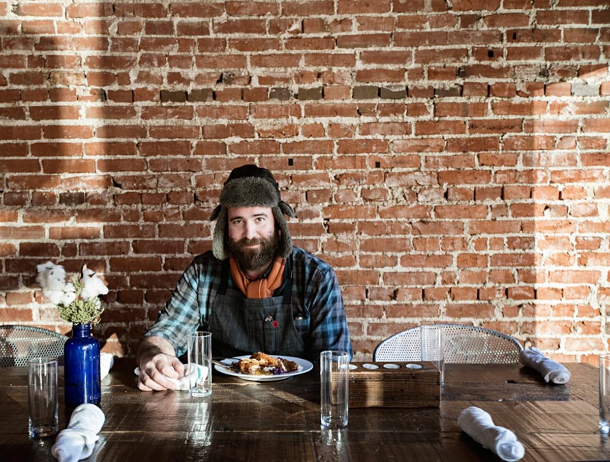 Juniper owner and executive chef John Perkins. See photos: John Perkins' Juniper Does Dixie Cuisine Proud