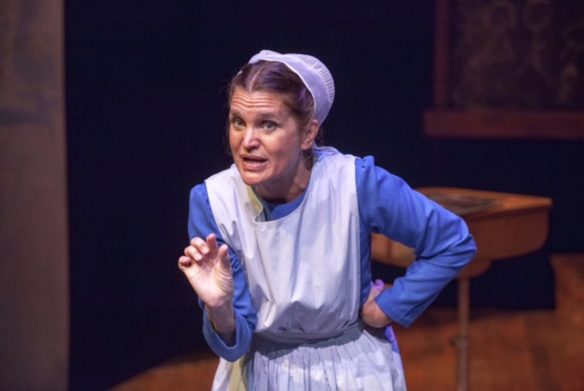 Amy Loui juggles seven characters in The Amish Project.