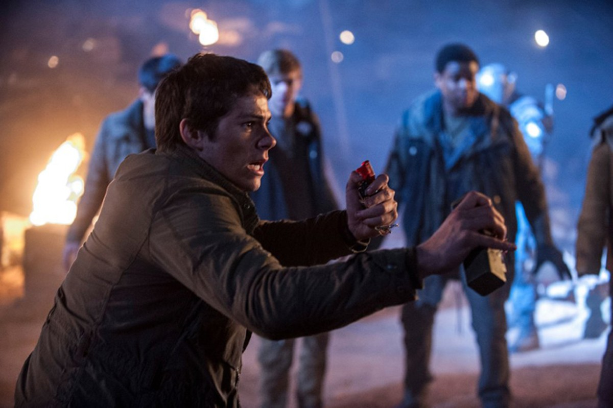 Dylan O'Brien scorches some trials, we guess.