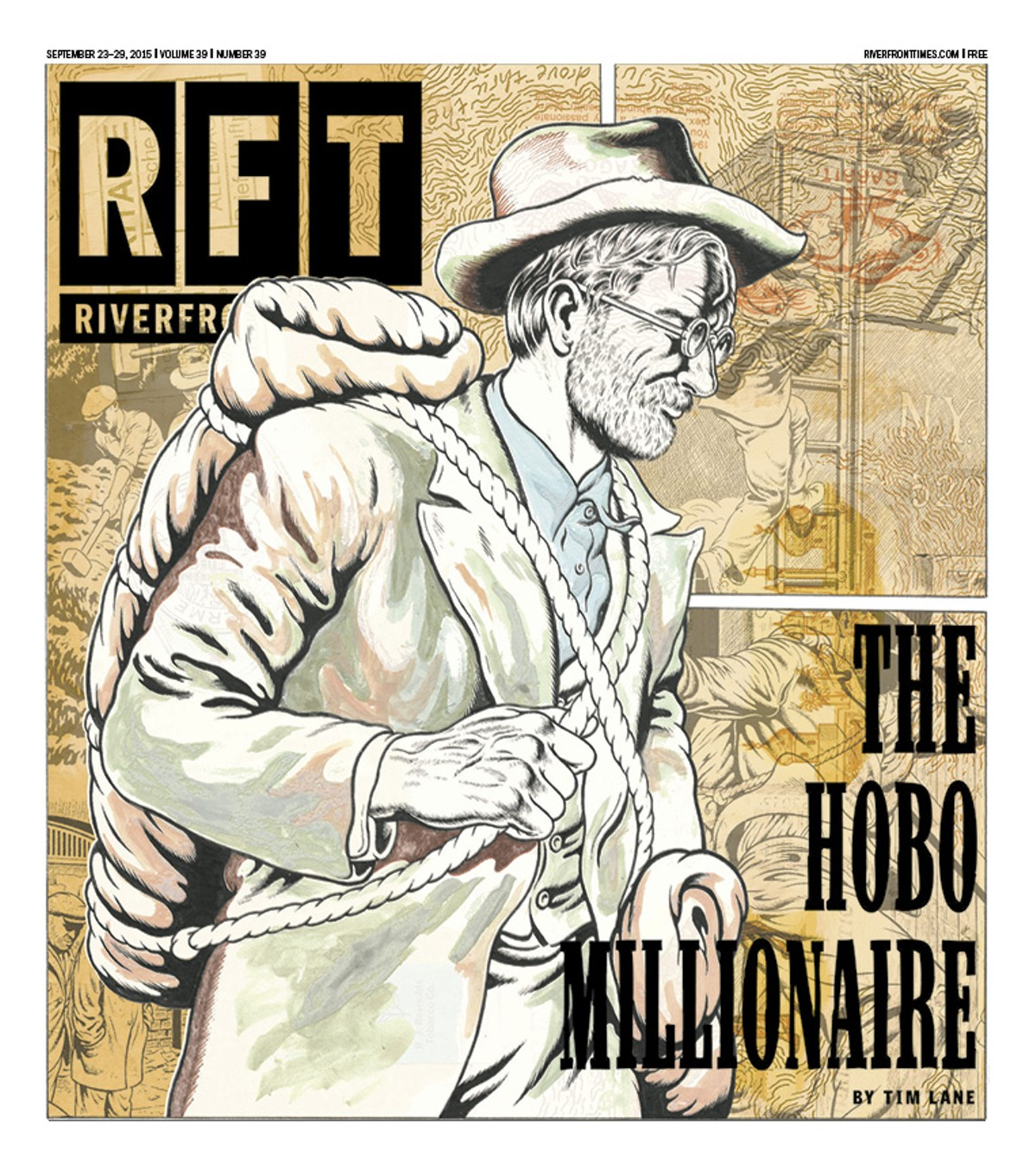 The cover of the September 24, 2015, Riverfront Times.