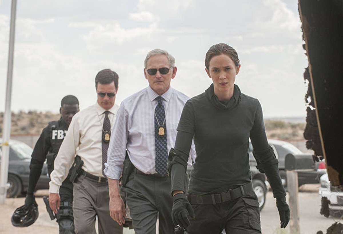 Emily Blunt leads the pack on the war on the war on drugs.