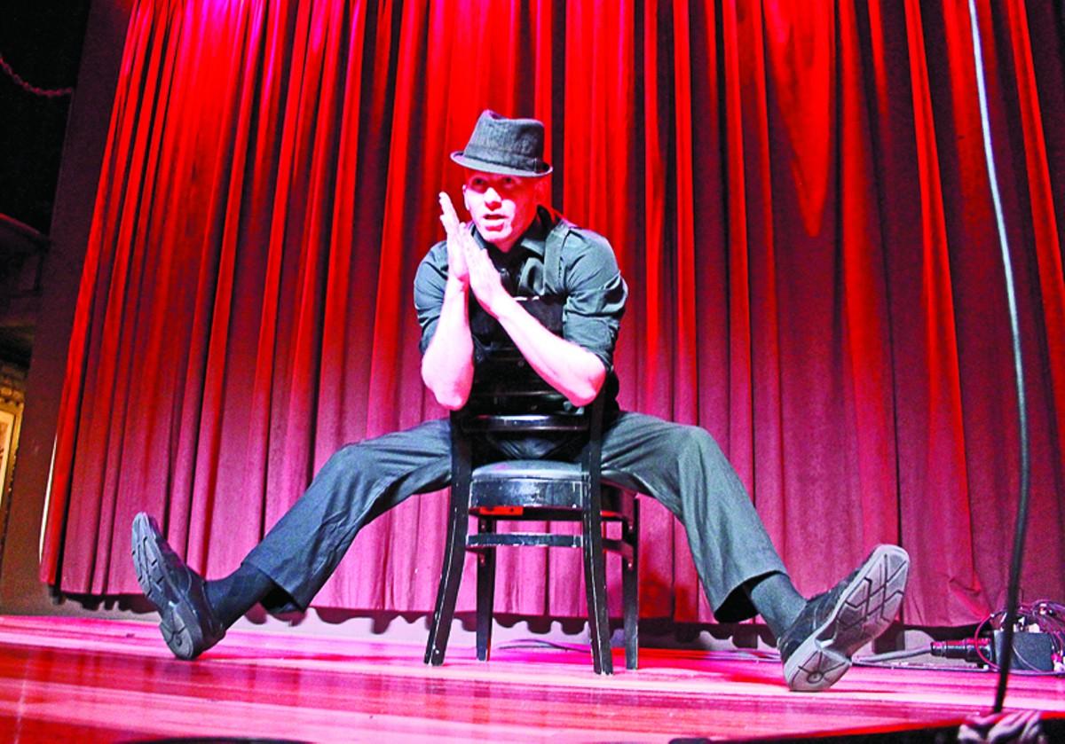 Jace Jones onstage.