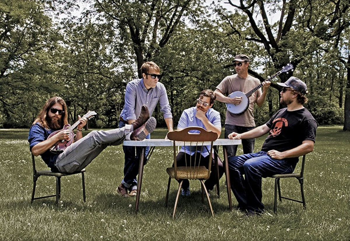 Greensky Bluegrass has toured 200-plus days a year for ten years.