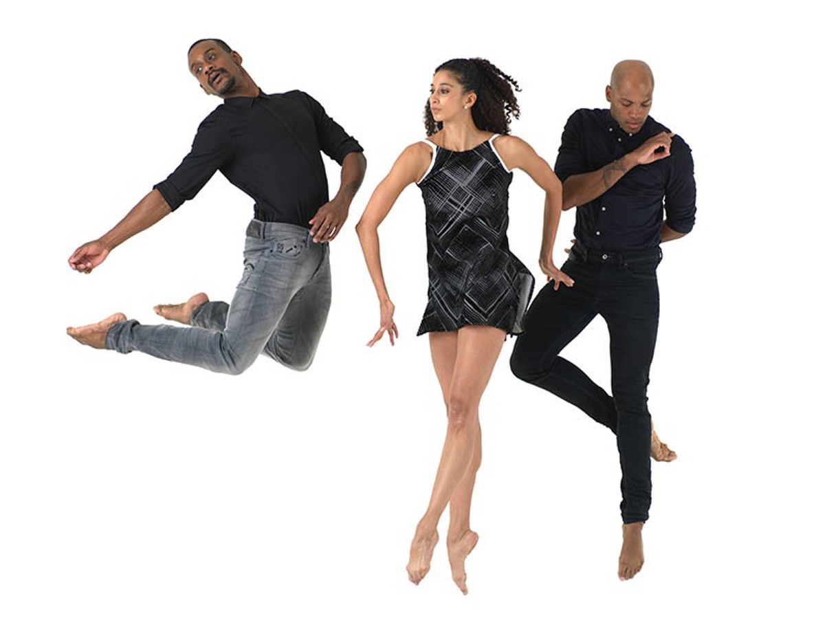 Former Alvin Ailey dancers Antonio Douthit-Boyd, Kirven Douthit-Boyd and Alicia Graf Mack -- all of them now St. Louis residents -- appear in the world premiere of a piece inspired by Maya Angelou.