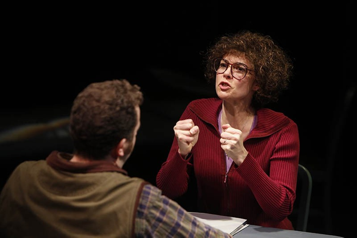 Nancy Bell excels as Molly Rush.