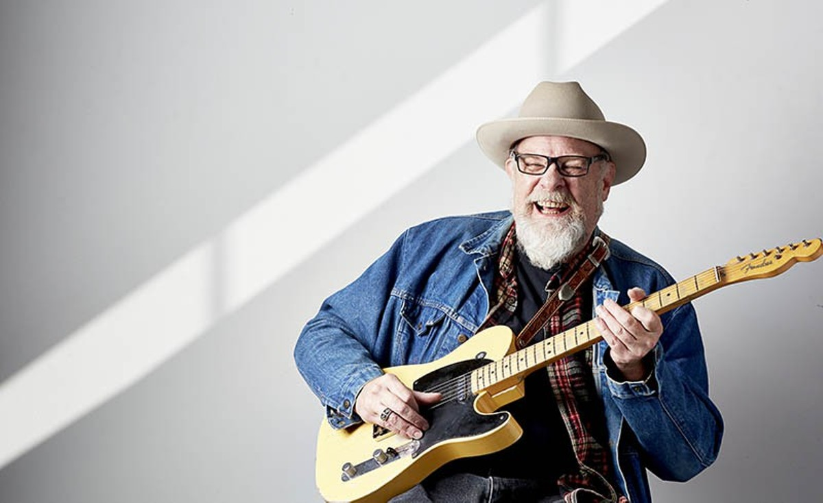 John McVey, bluesman-turned-St. Louisan.