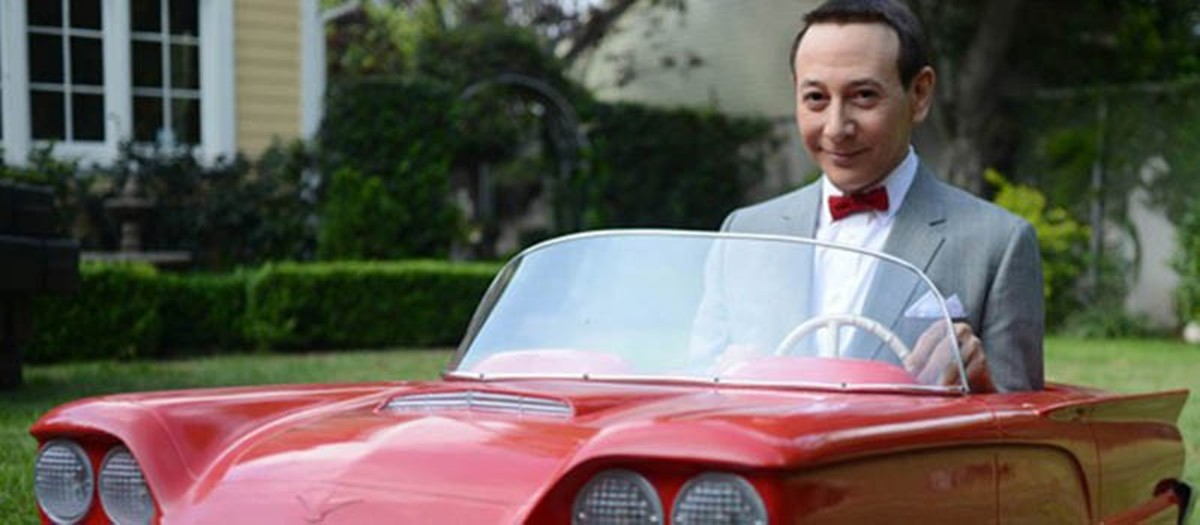 Pee-wee hits the road again.