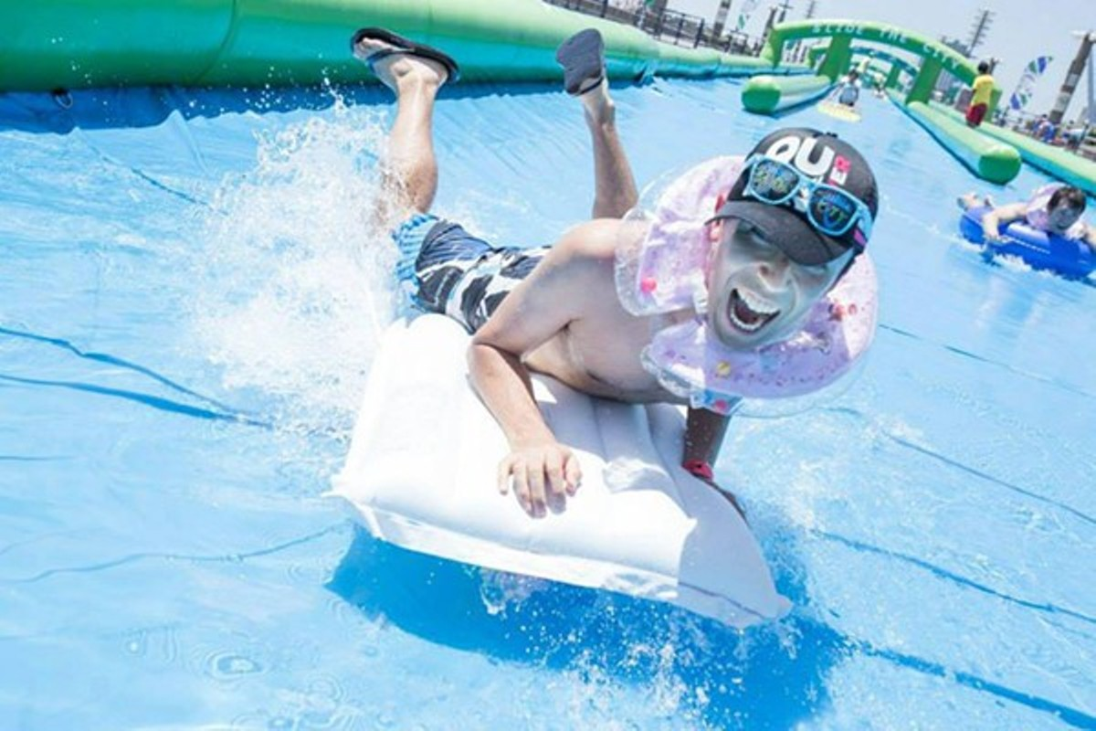 Slide the City will be coming to Dogtown this year.