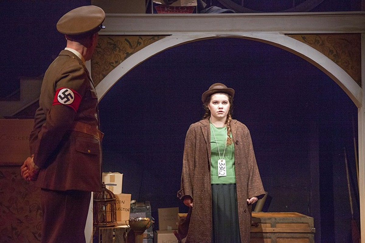 Eva (Hannah Ryan) escapes Germany, but the past still haunts her.