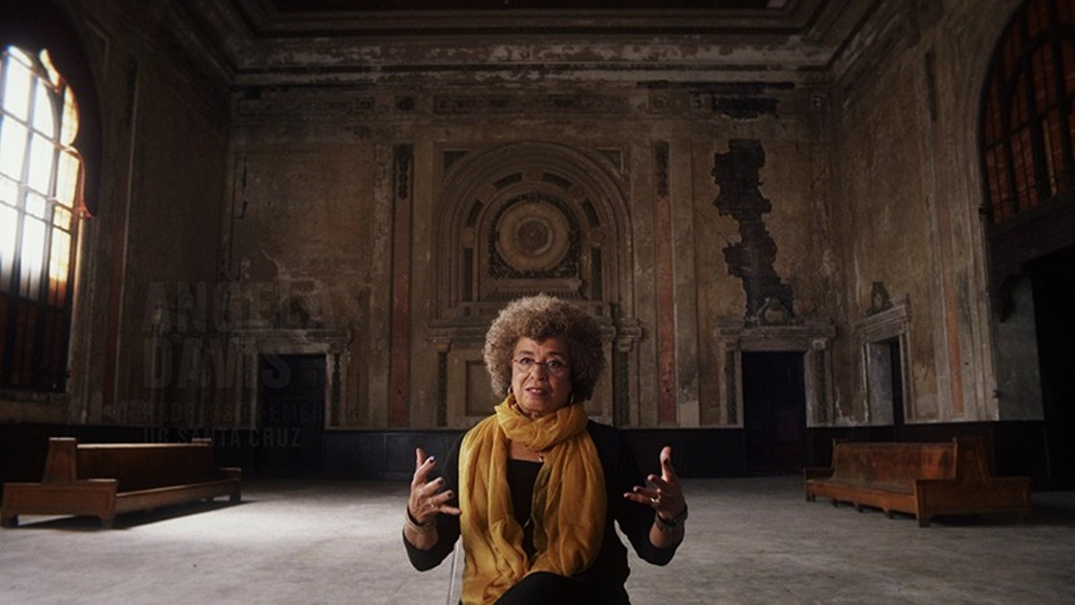 Angela Davis is anti-prison and pro-humanity.