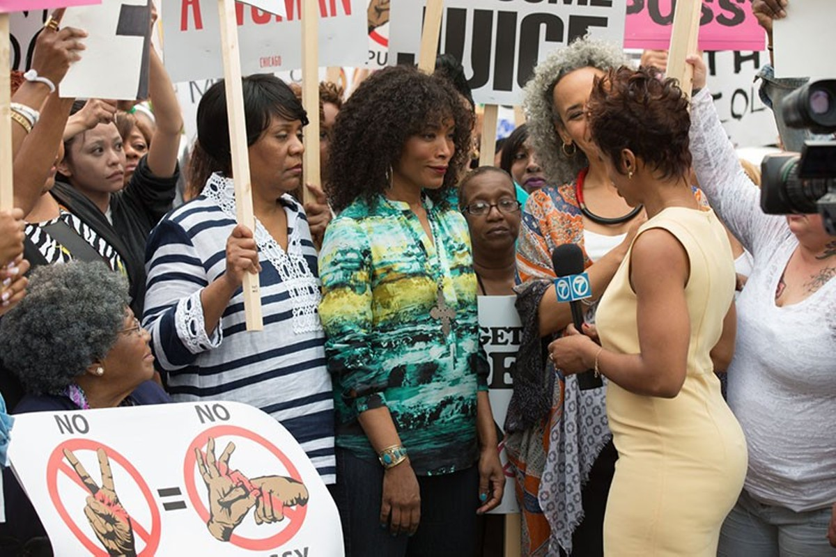 Spike Lee's Chi-Raq transposes Lysistrata to modern Chicago.