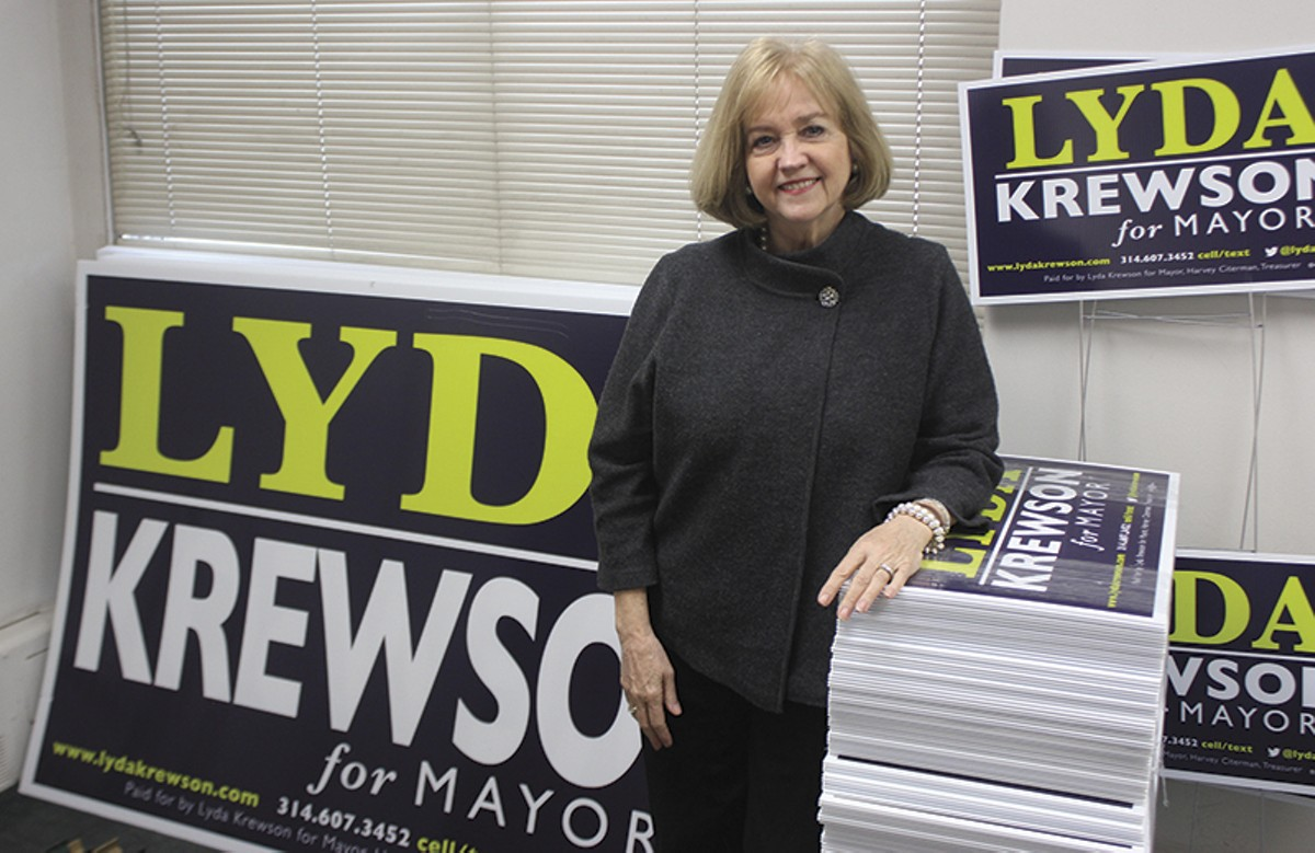 Krewson, whose husband was murdered decades ago, calls crime the top problem the city faces.