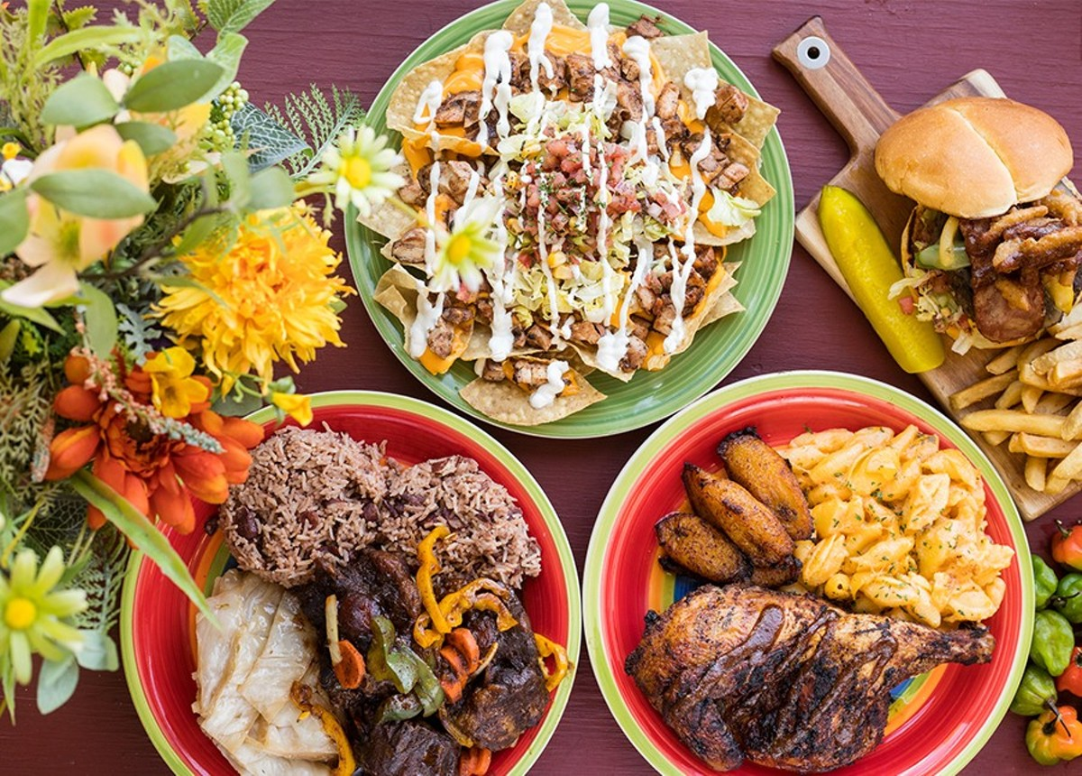 "Jerk Soul brings delicious seasoning to bear on jerk chicken nachos, a jerk burger, the unparalleled ""Judah's Jerk Entree"" and an oxtail platter."
