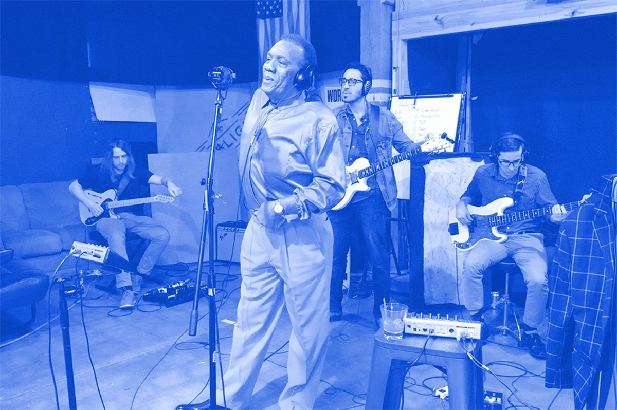 Legendary local soul singer Roland Johnson is one of many artists who was tapped for the All St. Louis Revue.