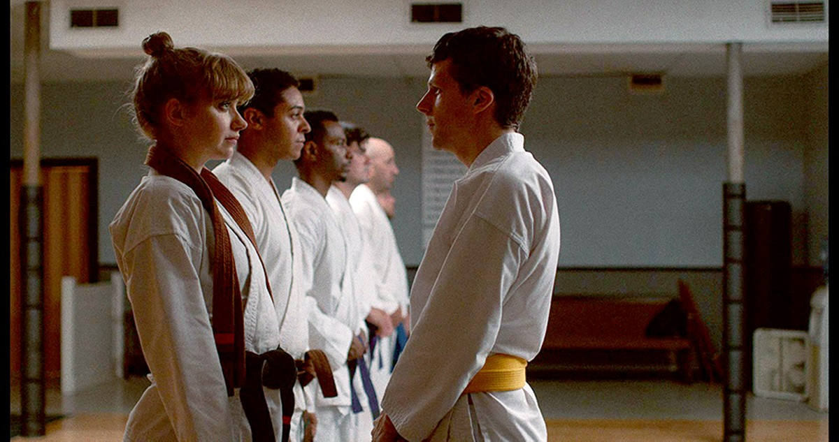 Imogen Poots and Jesse Eisenberg in The Art of Self Defense.