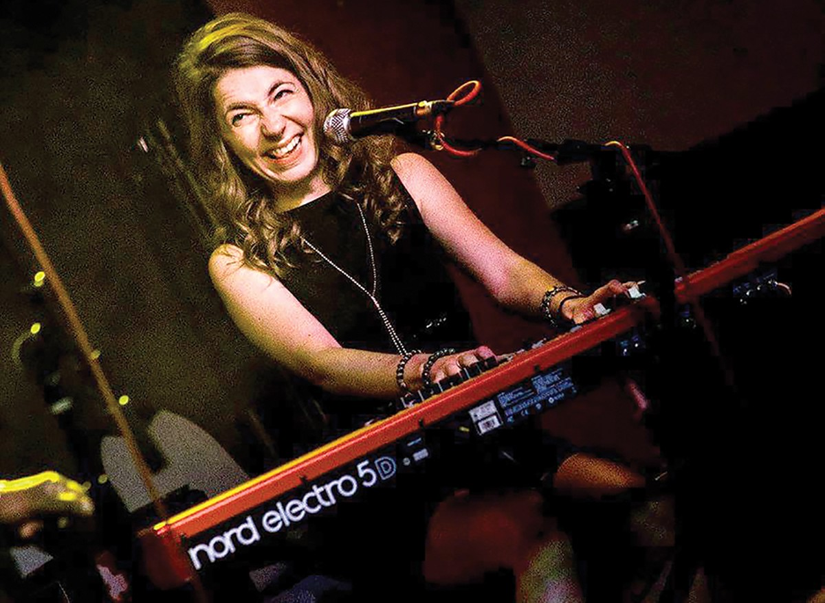 In recent months, Alexandra Sinclair has manned the keys regularly with solo sets at Yaqui's and the Dark Room in addition to her work backing up other St. Louis artists.