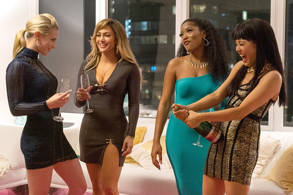 A gang of strippers (Lili Reinhart, Keke Palmer, Jennifer Lopez and Constance Wu) take down Wall Street, one financier at a time.