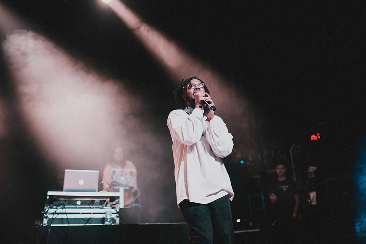 Najii Person recorded a conversation with his friends on the subject of love, which served as the blueprint for his new EP.