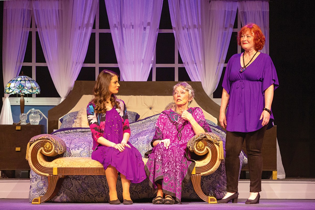 Angela Bubash, Jan Meyer and Donna M. Parrone in Three Tall Women.