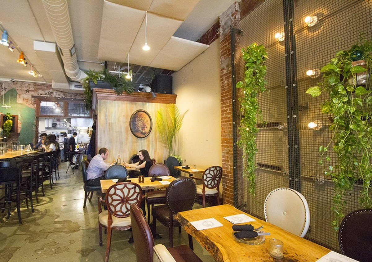 The Garden on Grand has a stunning interior, but the food falls short.