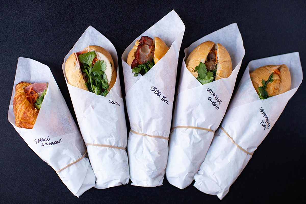 Originally designed to lure diners inside, The Banh Mi Shop's sandwiches turned out to be perfect to-go meals.