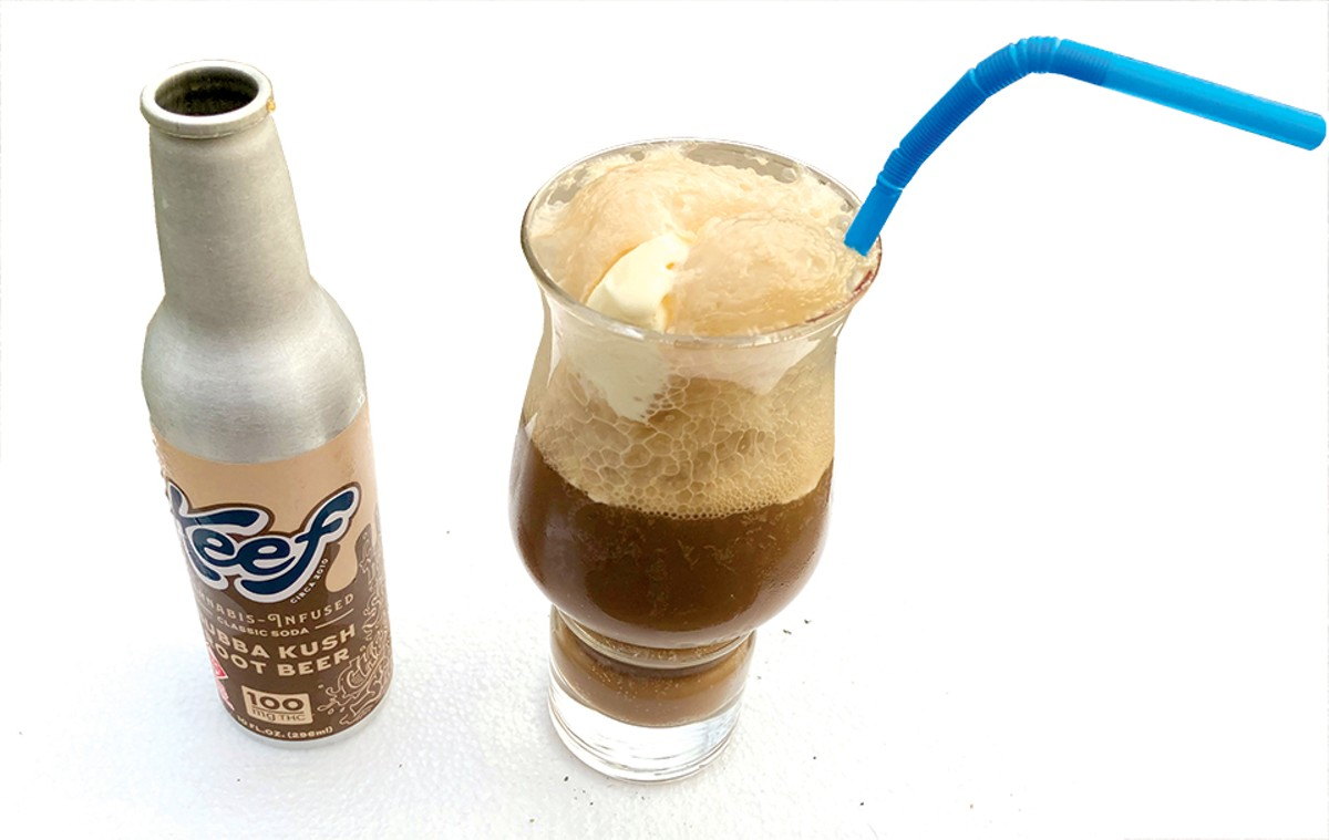 The most expensive root beer float you've ever even considered making.