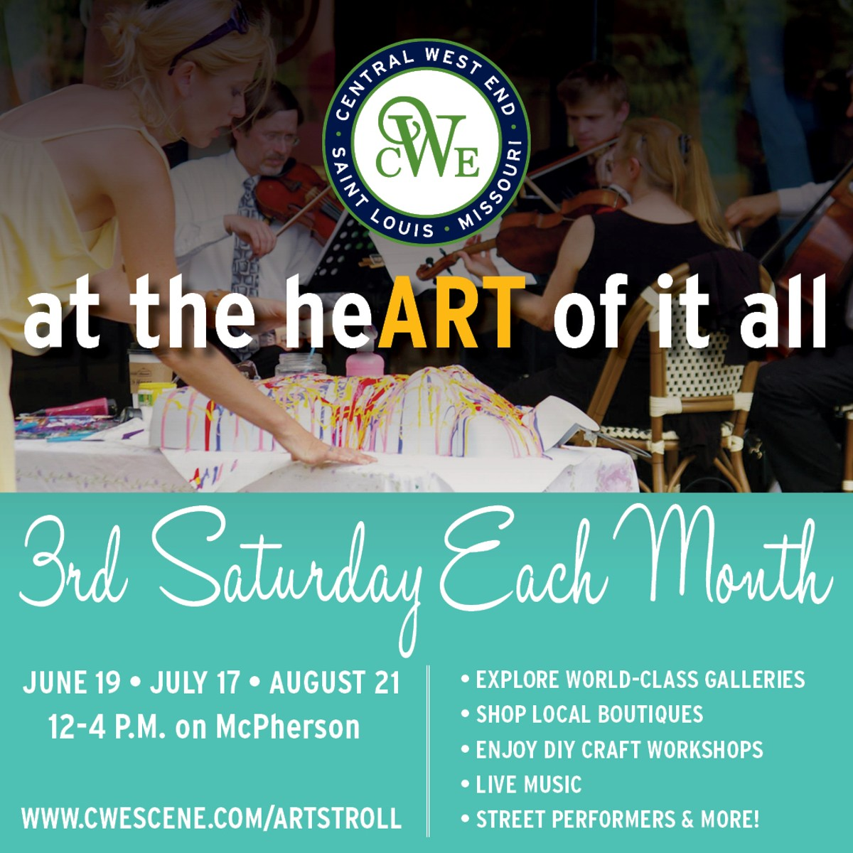 Come explore why the CWE is at the heART of it all!