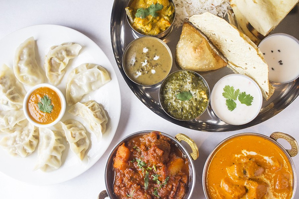 Himalayan Yeti's menu items include momo, veggie thali, lamb vindaloo and chicken tikka masala.